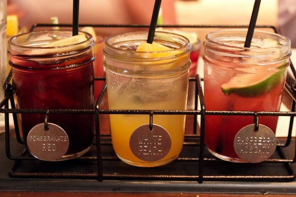 Lazy Dog Addison Housemade Sangria Sampler