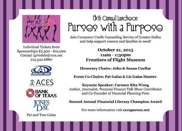 Purses with a Purpose Luncheon