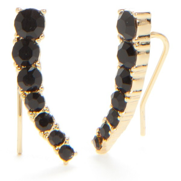 Belk Kate Spade New York, Dainty Sparklers Ear Crawler Earrings, $48