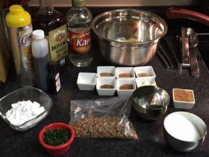 Bourbon Syrup Ingredients