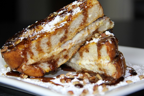 Pumpkin Pie French Toast by Chef Theo White