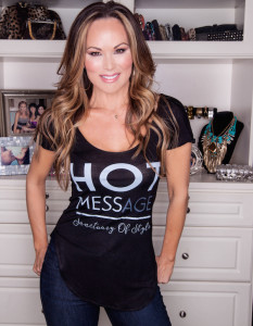Bravo TV Real Housewives of Dallas Tiffany Hendra Tiffirmation T-Shirt Line