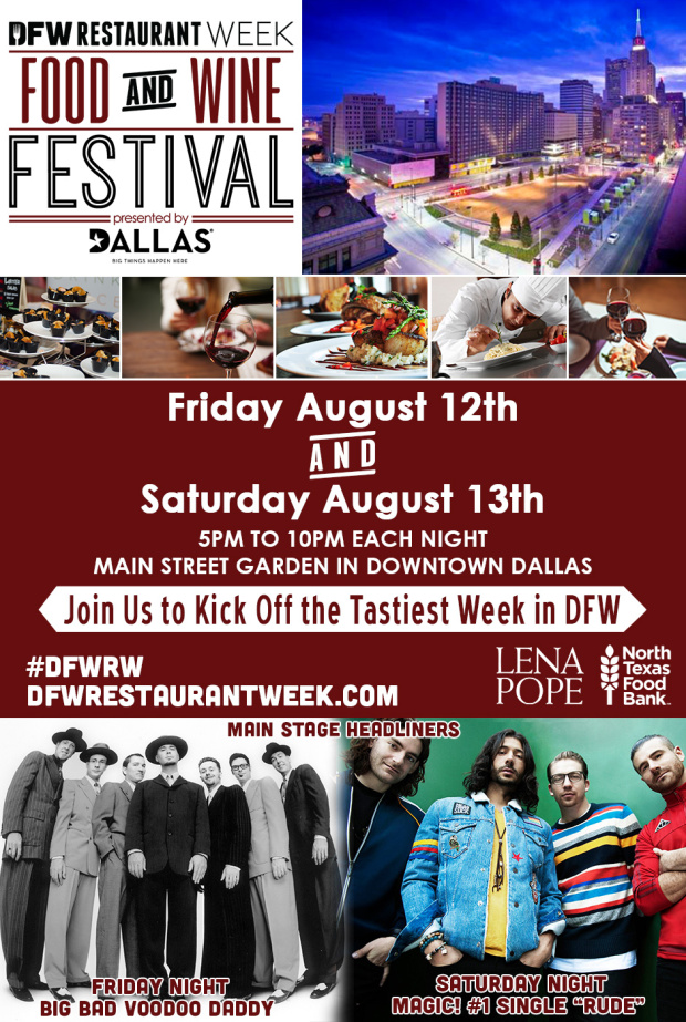 DFW Restaurant Week Food and Wine Festival