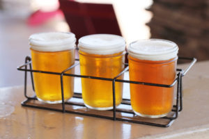 Lazy Dog Restaurant Addison Hop Head Sampler