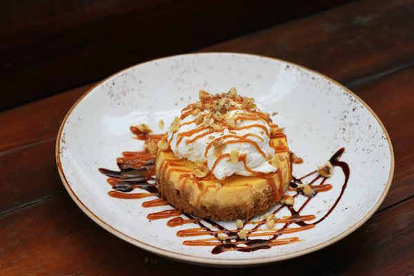 Lazy Dog Restaurant Addison Pumpkin Cheesecake