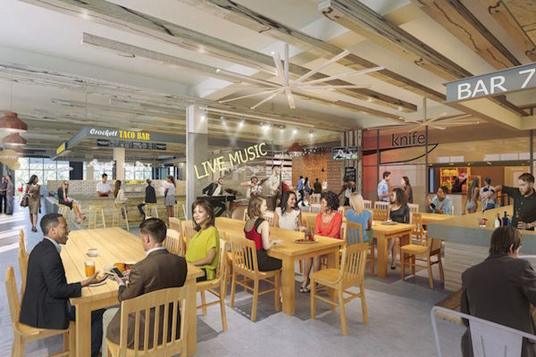 Fort Worth's Crockett Row Adds New FOODHALL, Vendors Announced