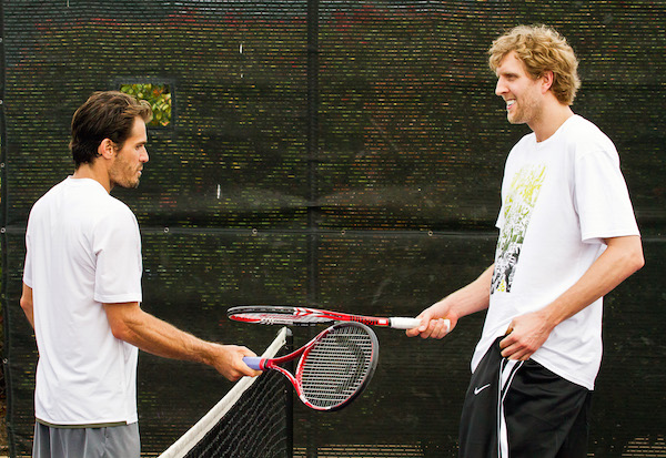 2016 Tommy Haas and Dirk Nowitzki