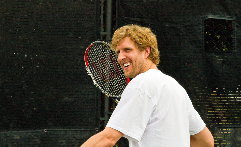 BORIS KODJOE & CELEBS HEAD TO DALLAS SEPTEMBER 15 FOR DIRK NOWITZKI PRO CELEBRITY TENNIS CLASSIC