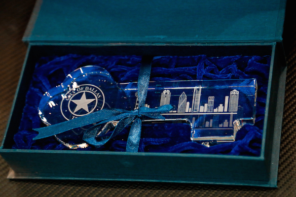 Dirk Nowitzki Key City of Dallas