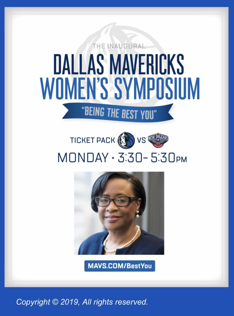 dallas mavs women's symposium