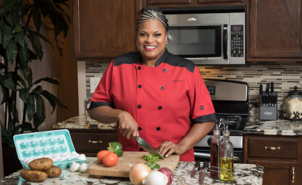 Chef Cassy Jones Plates with Creativity: Pile on the Fried Collard Greens, PB&J Wings Plus More!