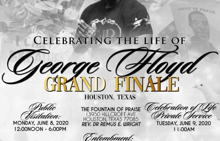Everything You Need to Know About George Floyd's Funeral in Houston